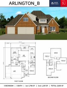 Ruhl Construction | Floor Plans | Arlington_B