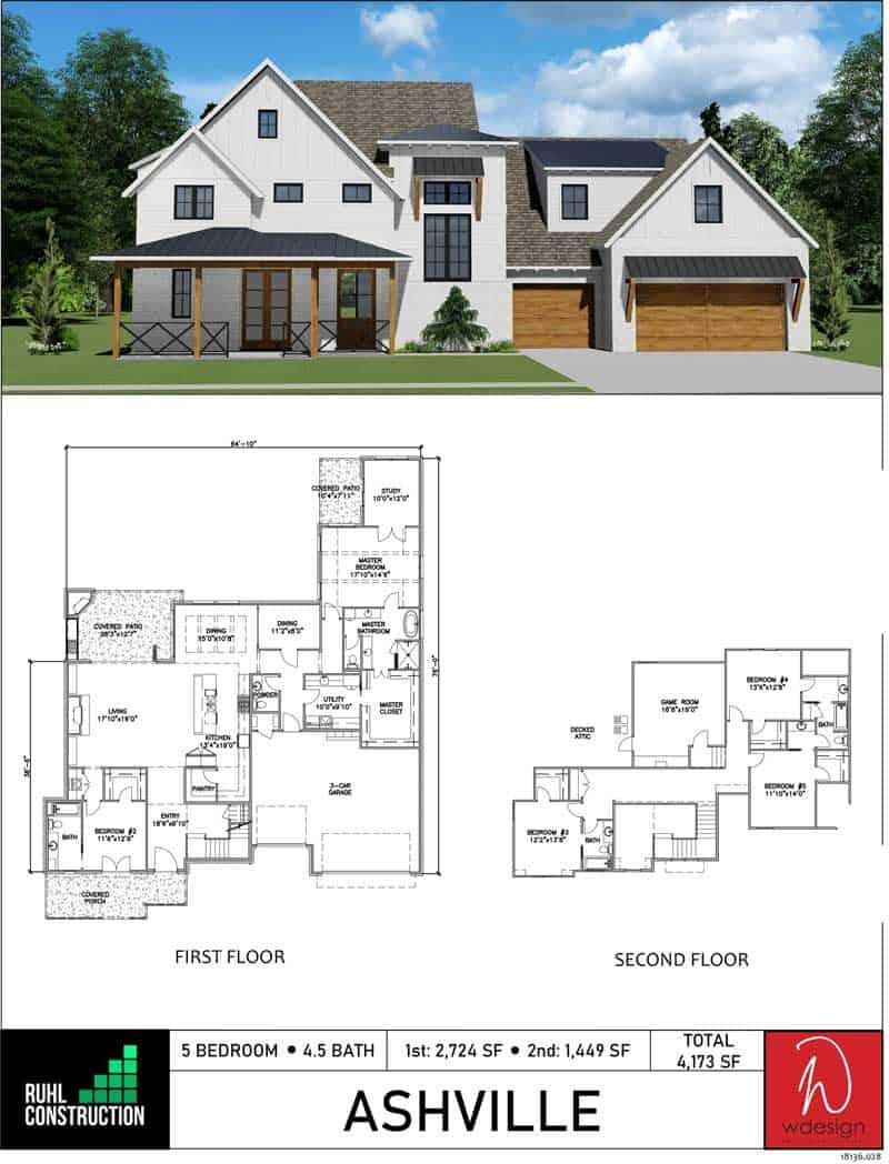 Ashville Floor Plan 1